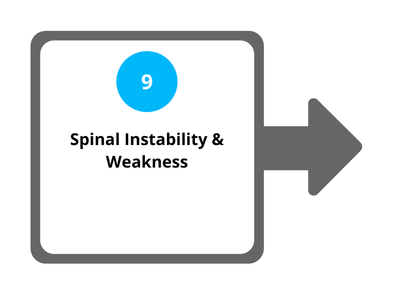 Step 9 Spinal Instability and Weakness