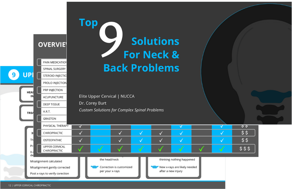 Top 9 Solutions for Neck & Back Problems PDF